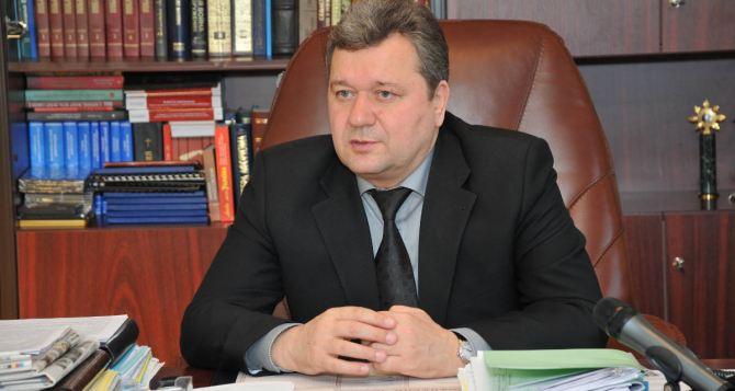 Председатель Луганского облсовета требует остановить АТО