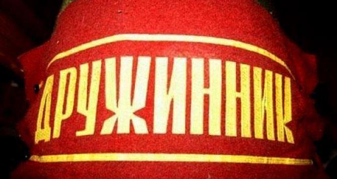 На защиту порядка в Луганской области выйдут дружинники?