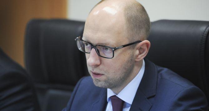 Яценюк накануне выборов президента обратился к украинцам