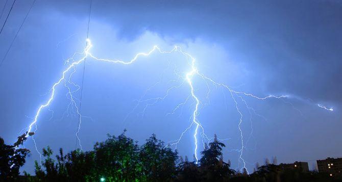 Погода в Луганске на завтра, 27мая: гроза