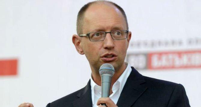 Яценюк рассказал, когда решится ситуация на востоке Украины