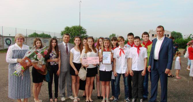 Счастьенская школа №56 и Петровская школа №1 получили гранты ДТЭК для воплощения энергоэффективных проектов