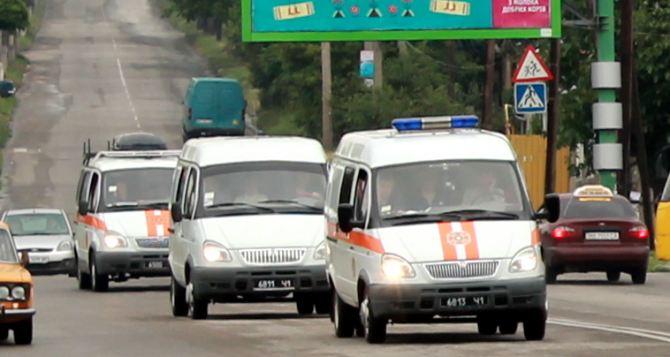 Из зоны проведения АТО под Луганском вывезли 18 человек