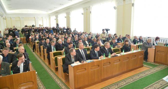 Возможенли роспуск Луганского облсовета? Ответ депутатов на предложение Ляшко