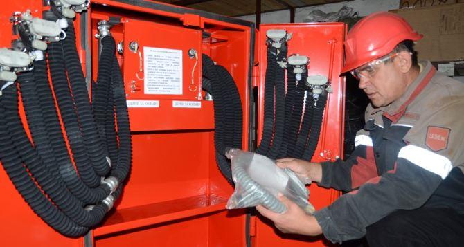 На «Краснодонугле» закупили аппараты, которые  самостоятельно вырабатывают кислород