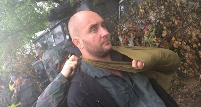 Украинского журналиста ранили под Луганском