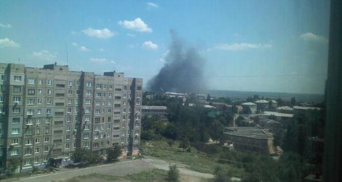 В Луганской области сбит военный самолет. —СМИ