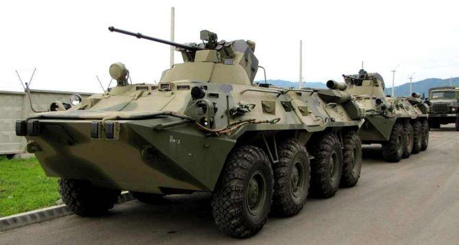 Россия стягивает войска к границе с Украиной. —СНБО