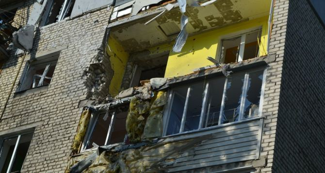 Луганск в огне: последствия обстрела поселка Юбилейный (фото, видео)