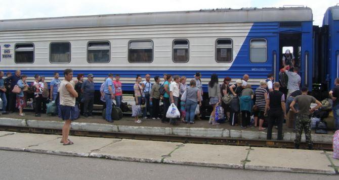 Железнодорожный вокзал Луганска 26июля не отправлял и не принимал поезда