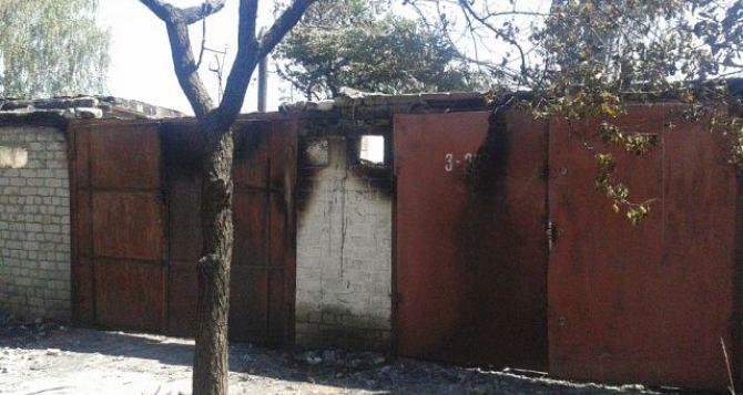 В Луганске снаряды попали в кооператив на ВВАУШе (фото)