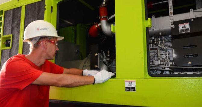 Для обеспечения безопасности горняков на «Краснодонугле» закупили мощный генератор