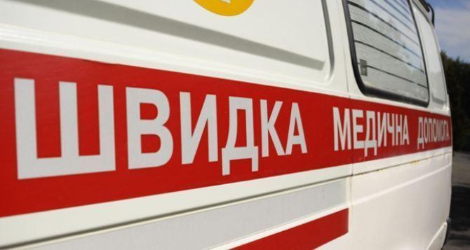 Как работает скорая помощь в критических условиях в Луганске (видео)