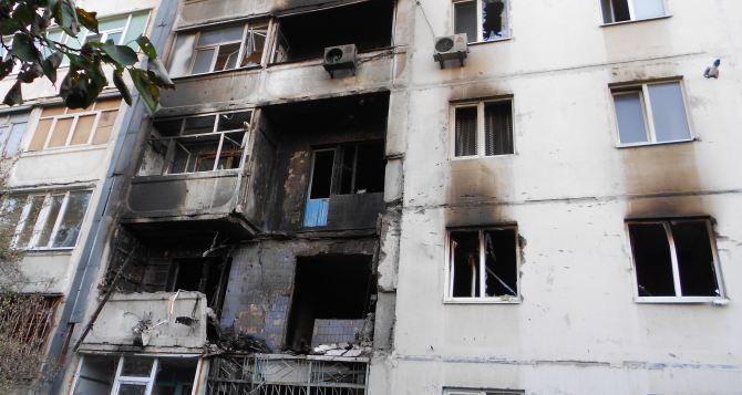 Последствия артобстрела в Луганске: улица Победоносная (фото)