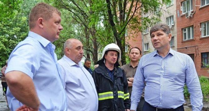 Жителей Луганска призвали поддержать мэра, задержанного батальоном «Айдар»