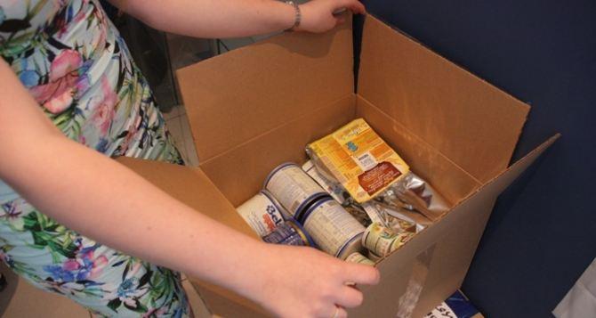 В Луганскую область отправили 12 тонн гуманитарной помощи