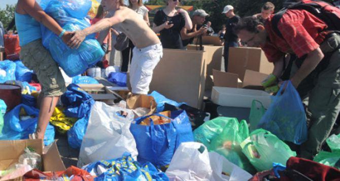 В Луганскую область отправят «гуманитарку» из Киева, Харькова и Днепропетровска