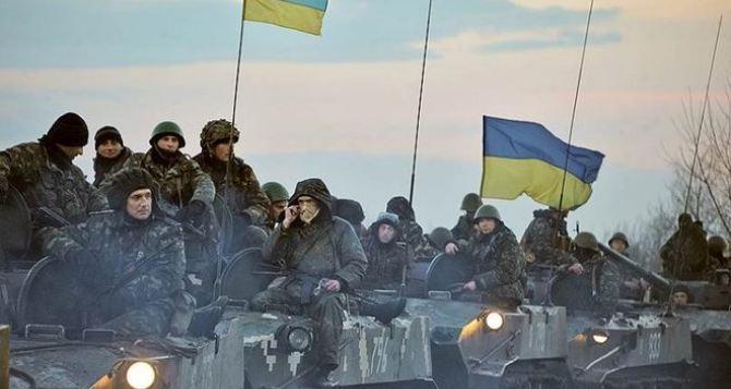 Силы АТО полностью заблокировали Горловку и удерживают Хрящеватое. —Пресс-центр