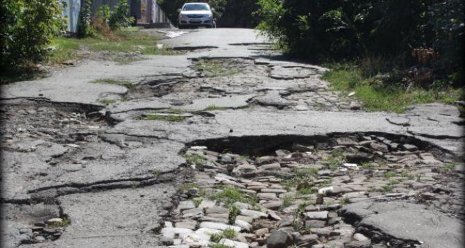 В Укравтодоре посчитали, сколько нужно денег для восстановления дорог на Донбассе