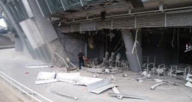 Одна бомба попала в «Донбасс Арену» в Донецке. —Сергей Палкин (фото)