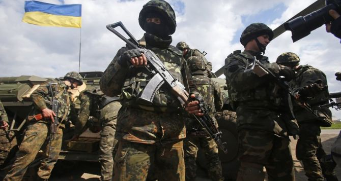 Украинская армия ведет оборонительные бои под Луганском