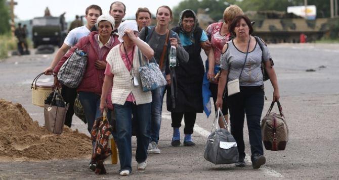 Из-за приближающихся холодов число беженцев из Донбасса растет. —ГСЧС