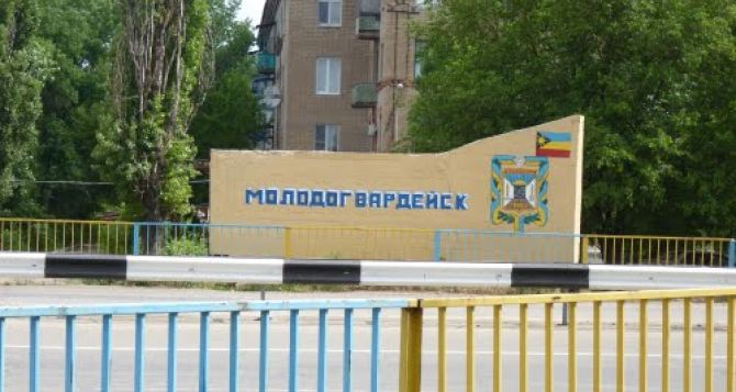 Украинская авиация нанесла удар по ополченцам в районе Молодогвардейска