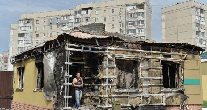 Город в состоянии ожидания, люди ходят, как зомби, как было в блокадном Ленинграде. — Рассказ о поездке в Луганск