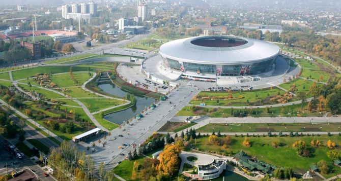 В Донецке напряженная обстановка. Слышны звуки залпов в двух районах