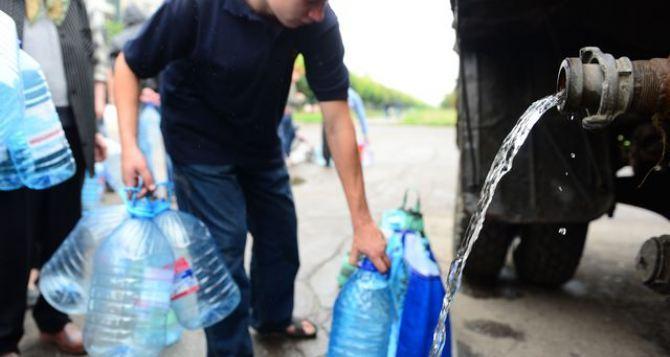 В 3 района Донецка будут подвозить техническую воду (адреса)