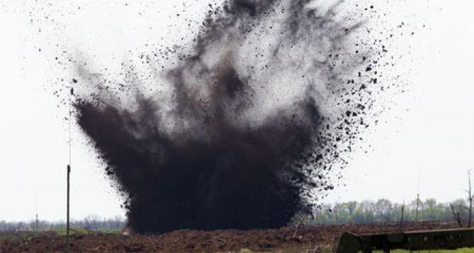Жительница приграничного села на Луганщине подорвалась на мине
