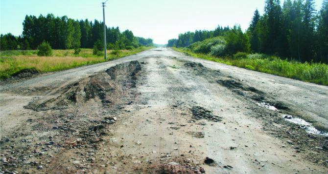 В Луганской области подготавливают к зиме дороги, пострадавшие от обстрелов
