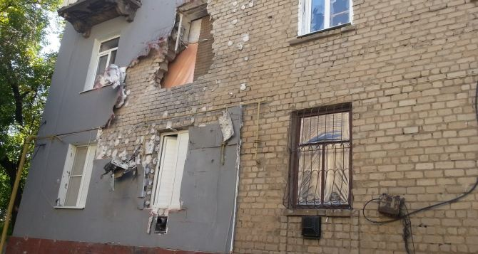 Более 5400 луганчан обратились за помощью по восстановлению домов