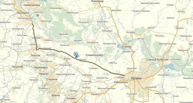 Жителей Луганской области просят воздержаться от поездок по Бахмутке
