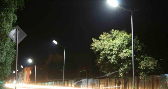 В Луганске скоро на улицах станет светло?