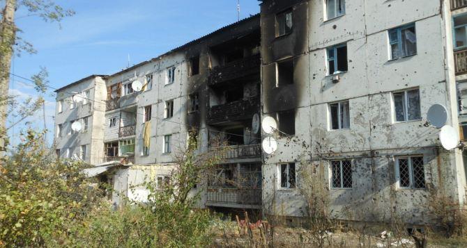 Боевые действия в Луганской области: последствия обстрела Новосветловки +