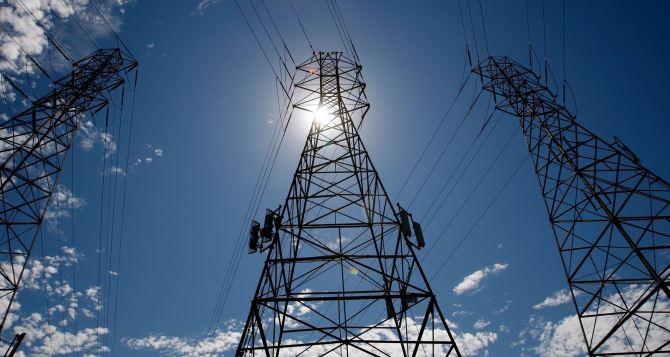 В Луганске отменили веерное отключение электричества