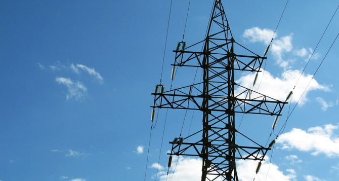 Где в Донецке отсутствует электричество?