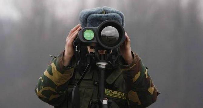 РФ продолжает воздушную разведку на границе с Луганской областью. — Госпогранслужба