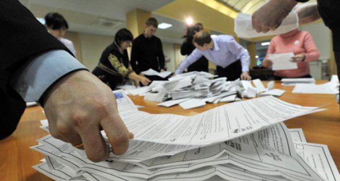 ЦИК завершает подсчет голосов по Харьковской области