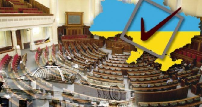 Во всех округах Харьковской области победил «Оппозиционный блок»