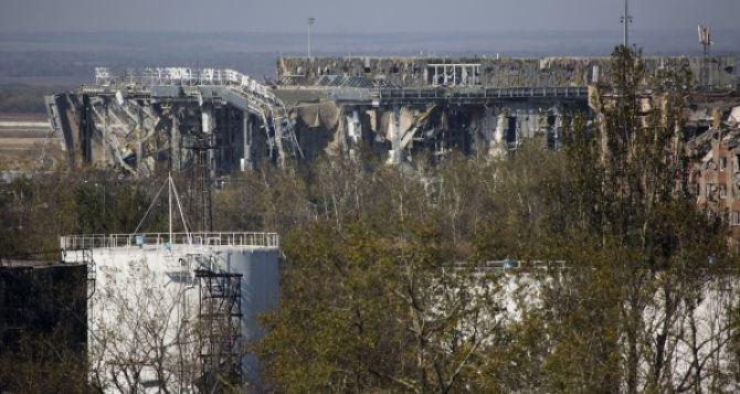 Бои за Донецкий аэропорт: видео с беспилотника