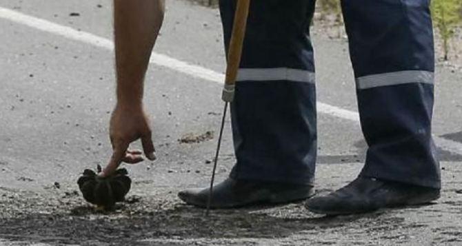 В Луганске обнаружили и обезвредили четыре неразорвавшихся снаряда