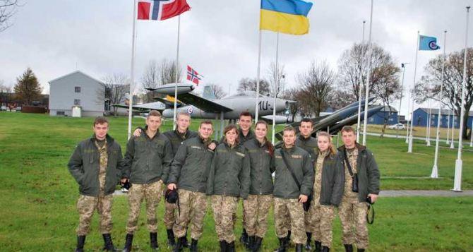 Курсанты Харьковского университета Воздушных Сил изучали опыт своих норвежских коллег