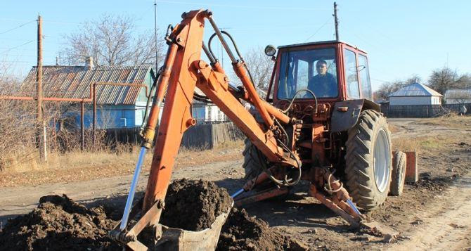 Градообразующее предприятие  помогло решить проблему водоснабжения в Краснодоне