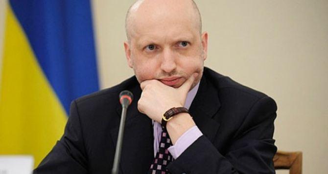 Турчинов рассказал, как можно решить конфликт на Донбассе