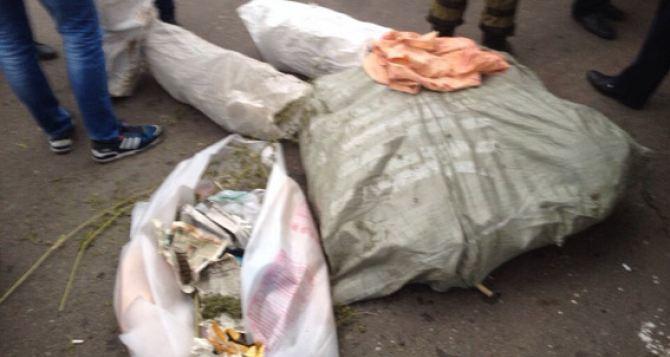 Бойцы батальона «Киев-2» везли из зоны АТО 12 килограммов наркотиков