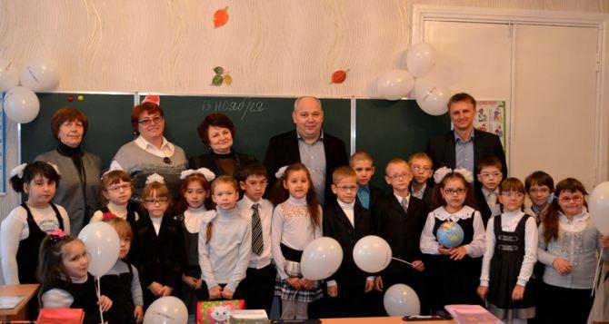 «Краснодонуголь» обустроил новый класс в учебно-воспитательном комплексе «Радуга»