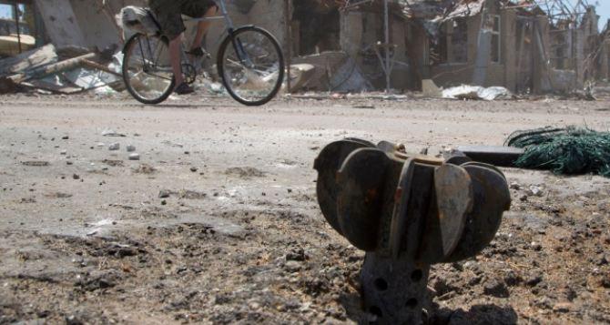 В Луганской области «Градом» перебили газопровод