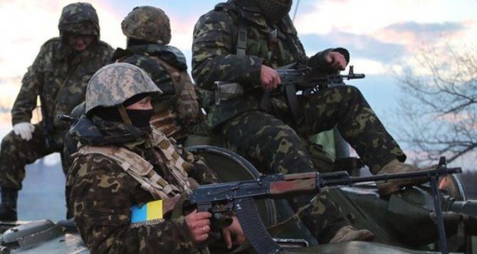 Ситуация в зоне АТО: интенсивные обстрелы ведутся на Дебальцевском и Луганском направлениях